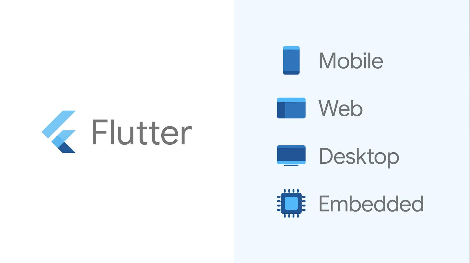 Flutter Header Logo