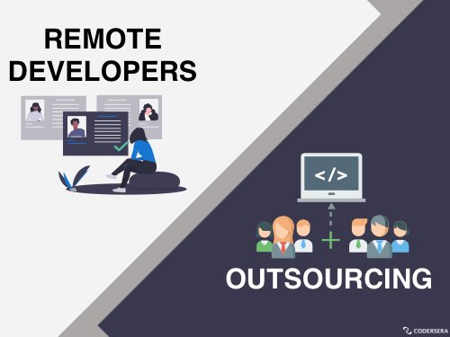 Outsourcing agencies vs Remote developers.