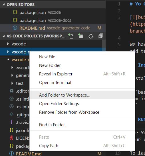 VScode coding