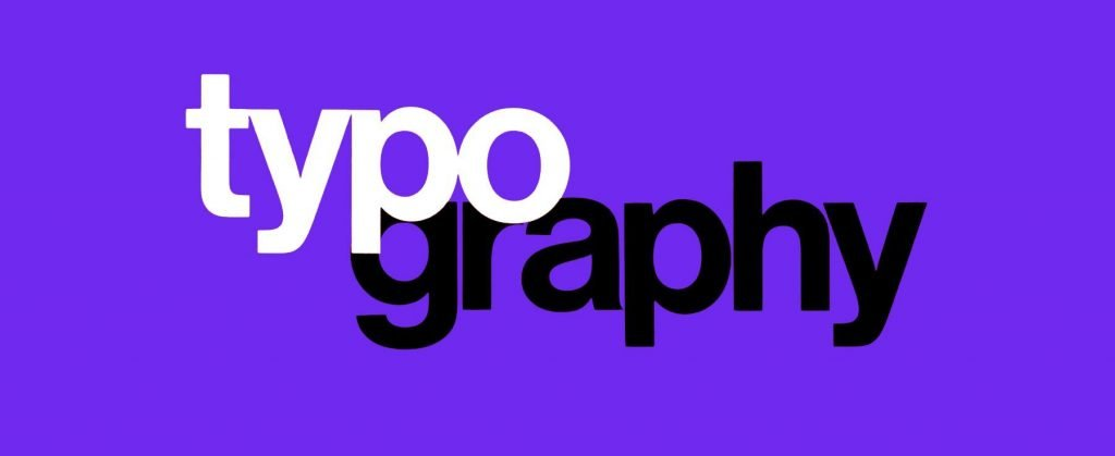 typography web design