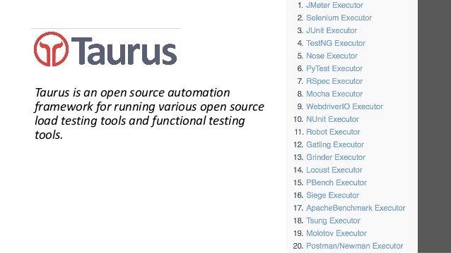 API Tool Taurus