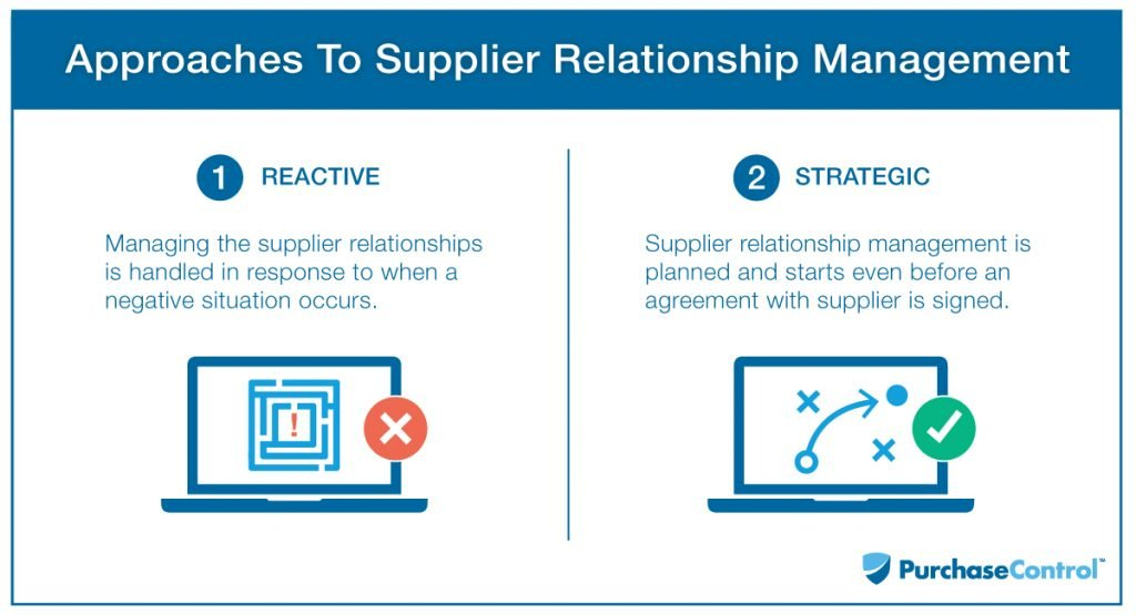 maintain a healthy supplier relationships