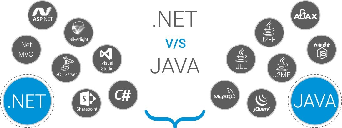 reasons why dot net is better than java