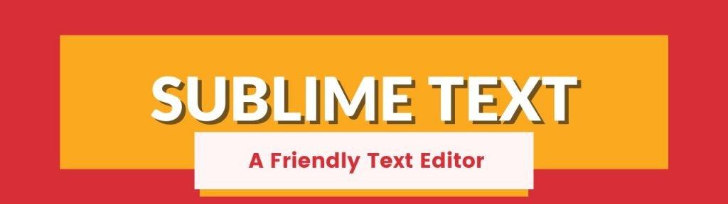 Best text editor