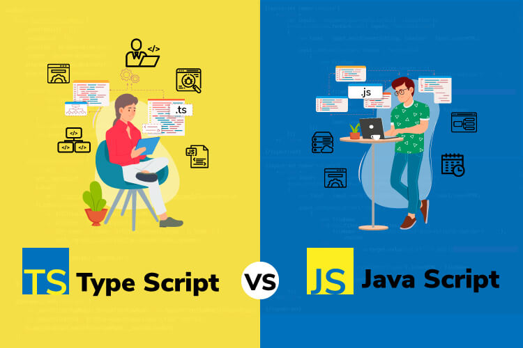 Difference between two programming languages. TypeScript vs JavaScript