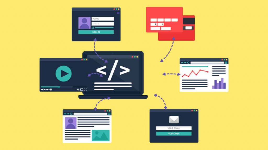 We use JavaScript for rich interfaces, higher debugging tools, and its a strong learning support.